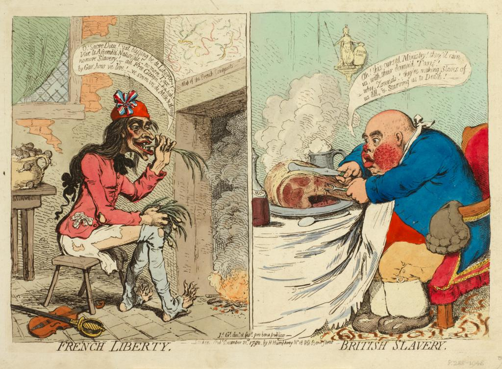 Featured image for the project: French Liberty | British slavery